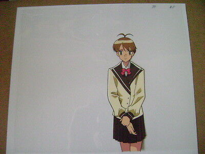 The Vision Of Escaflowne Hitomi Anime Production Cel 6