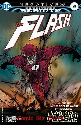 Flash #28 (2017) 1St Printing Dc Universe Rebirth Bagged & Boarded