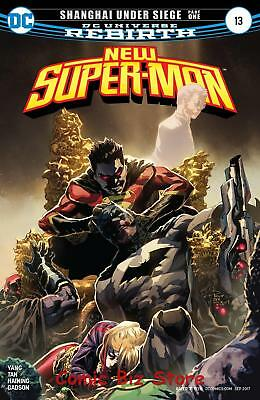 New Super Man #13 (2017) 1St Printing Bagged & Boarded Dc Universe Rebirth