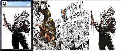 Old Man Logan #25 CGC 9.8 Deodato Virgin Variant LTD 600 + Raw Set!