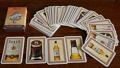 Pack of Bells Scotch Whiskey promotional Patience playing Cards