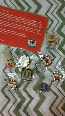 Vintage Lot Mcdonalds Pins