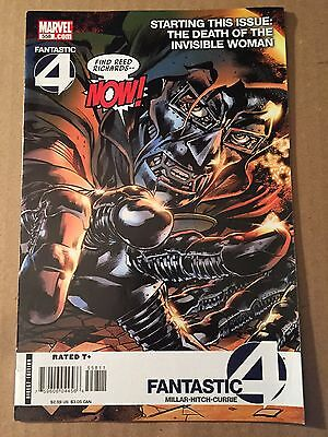 Fantastic Four 558 1st Old Man Logan as Hooded Man (see Pic) Wolverine Dr Doom