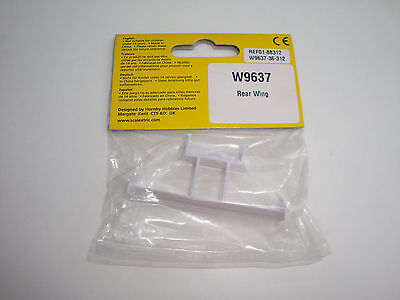 One Packet Brand New Scalextric Start Car Spares Bag Rear Wing Spoiler W9637