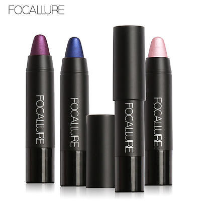 FOCALLURE Metallic Matte Lipstick Long Lasting Beauty Makeup Crayon