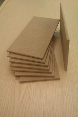 Wooden MDF Blank Plaques or Signs,With or Without Holes 200mm x 100mm x 6mm