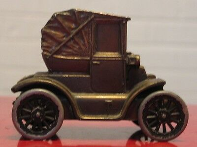 * 1900 PILLBOX COUPE COIN BANK, Banthrico. FIRST NATIONAL BANK & TRUST MICHIGAN