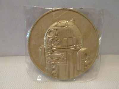 2005 California Lottery Star Wars Commemorative Promo Coin Token R2D2 New