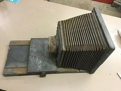 Antique Box Camera w/Bellows  Early 1900's