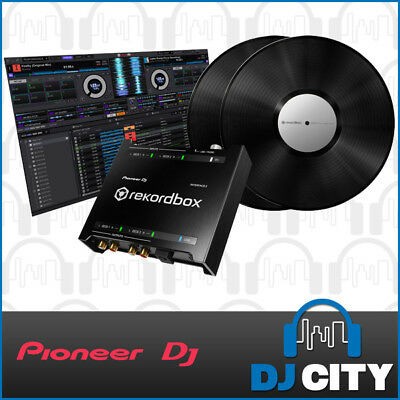 Pioneer DJ Interface2 Rekordbox Digital Vinyl System Turntable DVS Timecode- NEW