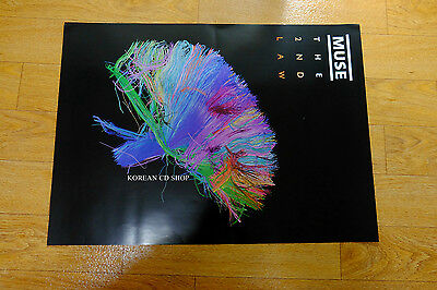 Muse - The 2nd Law  *Official POSTER* FOLDED POSTER