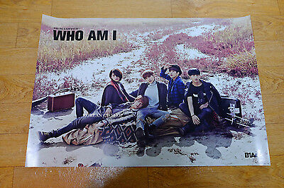 B1A4 vol.2 - WHO AM I *Official POSTER* KPOP FODLED POSTER