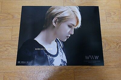 Kim Jae Joong Vol. 1 Repackage Album *Official POSTER* KPOP FOLDED POSTER