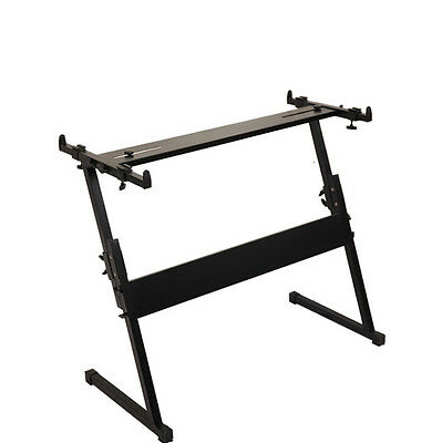 MTBC Heavy Duty Z Keyboard Stand Height Adjustable 55 - 82cm