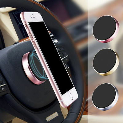 New Universal In Car Magnetic Dashboard Phone Silver GPS PDA Mount Holder Stand