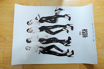 miss A Vol. 2 - Hush  *Official POSTER* KPOP FOLDED POSTER