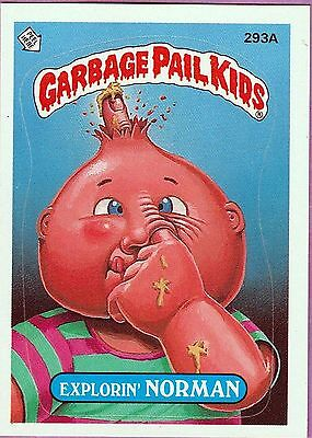 1987 Garbage Pail Kids 8Th Series Complete Set A/b + Wrapper, Free Shipping!