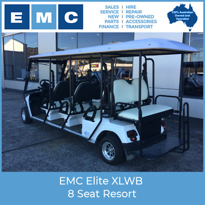 EMC Elite XLWB 8 Seat Resort
