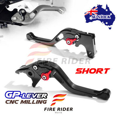 Fit Yamaha TMAX 530 SX / DX 2017 CNC SBR GP Black Short Front Rear Brake Levers