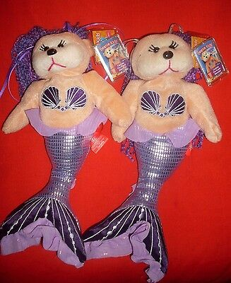 Beanie kids- Cordelia the Purple Mermaid Common/Mutation