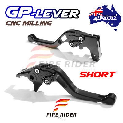 Fit Yamaha TMAX 530 XP500 15 16 CNC SBB GP Short Front Rear Brake Levers