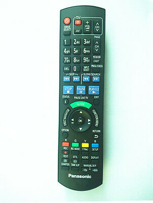 Panasonic Remote Control For N2Qayb001077 Dmrhwt260 Dmrpwt560 Dvd Blue Ray