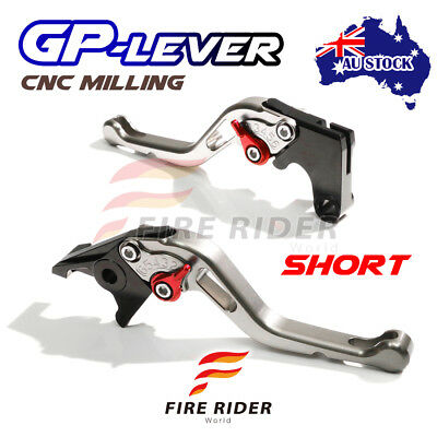 Fit Yamaha TMAX 530 XP500 15 16 CNC STR GP Short Front Rear Brake Levers