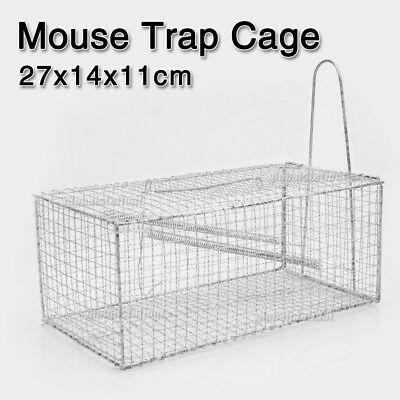 1x Humane Rat Trap Cage Animal Pest Rodent Mice Mouse Control Live Bait Catch