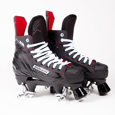 Bauer Quad Roller Skates - NS - 2018 Model - No Wheels