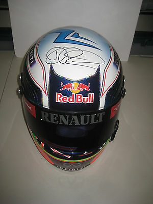 Daniel Ricciardo Hand Signed Full Size F1 Helmet Unframed + Photo Proof C.o.a