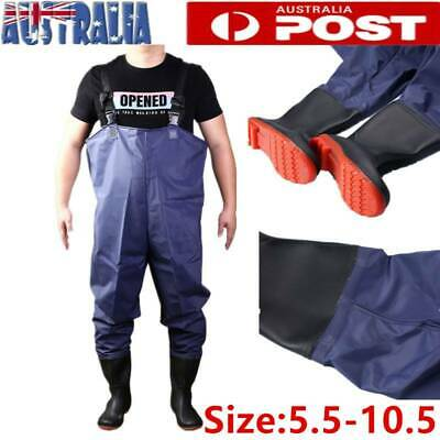 PVC Fishing Chest Waders Rafting Wear Waterproof Protective Waders