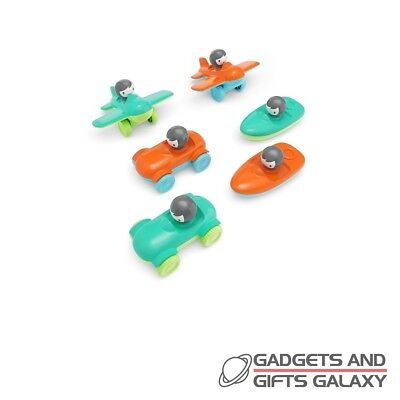 MINI VEHICLES PLANES SET OF 6 ASS DESIGNS toys gifts childs preschool kids
