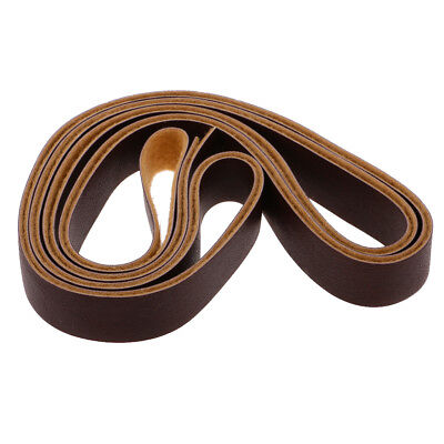 10m PU Leather Strap Strips for Leather Crafts DIY Bag Belt 15mm Deep Coffee