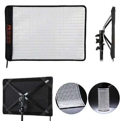 Falconeyes RX-12TD 50W 46x32cm 280PCS 3000K-5600K Roll Flex LED Video Light