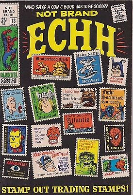 Not Brand Echh  #13 1969 Annual Size Last Issue Marvel Comics Group