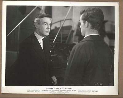 "Michael Gough Stars in ""Horrors of the Black Museum"" Vintage Movie Still"