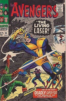 The Avengers #34 1966 Silver  Age Marvel Comics Group