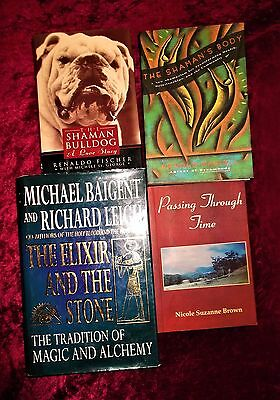 "L@@k!""new Age"" Spiritual ""shamanism & Alchemy""  Book Lot- Bj48"