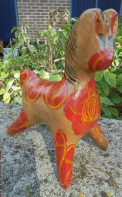 Poterie Berbère  Kabyle  Zoomorphe Cheval Tirelire  Kabylie N3803