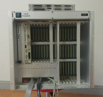 VME Chassis from GCA XLS stepper, very large, 12 6U slots, 8 9U slots, and more