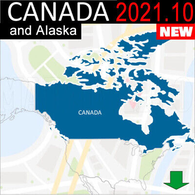 Canada Maps Gps 2018.20 3D For Garmin Devices <Latest Map>