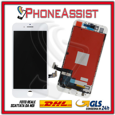 DISPLAY LCD VETRO TOUCH Apple iPhone 7 SCHERMO ORIGINALE TIANMA Bianco