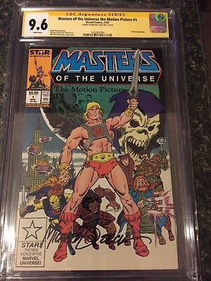 Masters Of The Universe Motion Picture Rare movie adaptation CGC 9.6 SS ZECK