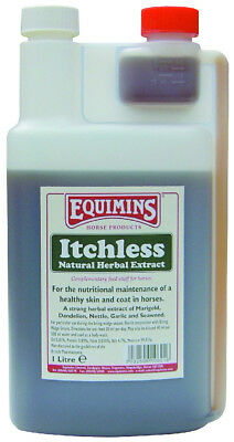 Equimins Itchless Liquid Herbal Tincture - 1L - Fly, Louse & Insect Control