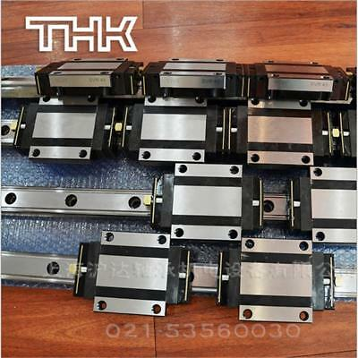 CNC Set 20-300mm 2x Linear Guideway Rail 4x Square type carriage bearing block