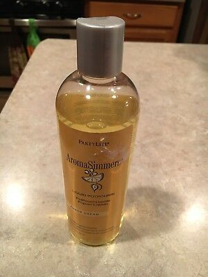 Partylite Amber Dream Aromasimmers Liquid Potpourri 11.8 oz approx 85% full