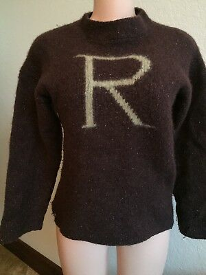 HARRY POTTER The Wizarding World Of HP Wool Sweater Universal Sz S/M