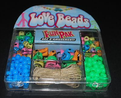 SALE - Cousin Corp - 'Love Beads' Fun Pak - Makes 8 Bracelets or 6 Necklaces -