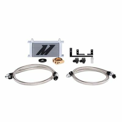 Mishimoto Oil Cooler Kit Thermostatic (Silver) fits Mazda MX