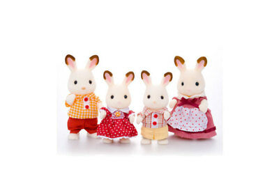 Chocolate Rabbit Family by Sylvanian Families
